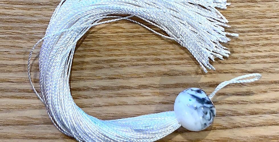 Ivory Marble Tassel