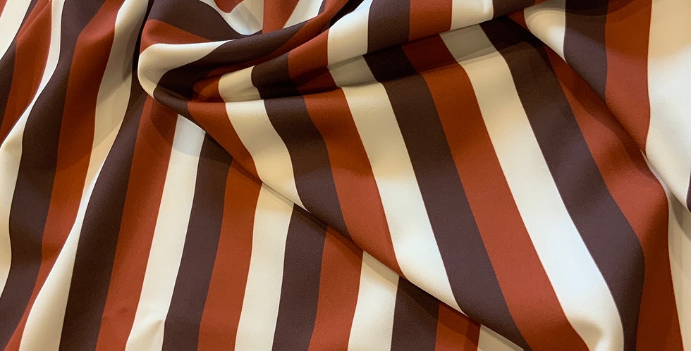 Caramel Stripes #2 Mechanical Stretch Suiting Remnant