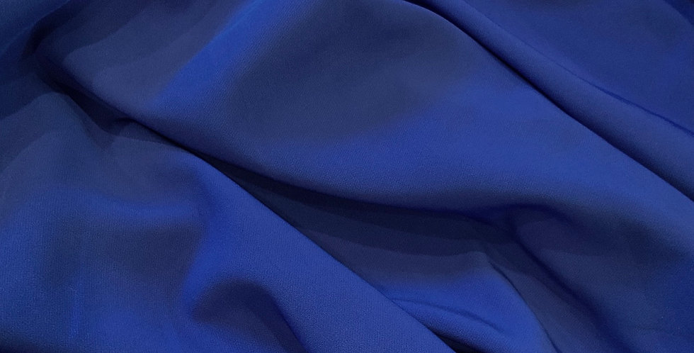 Cobalt Blue Mechanical Stretch Microfibre Suiting...
