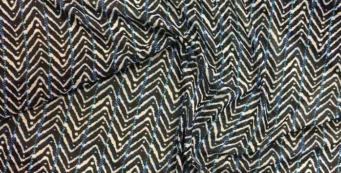 Shibori Stripe Mesh