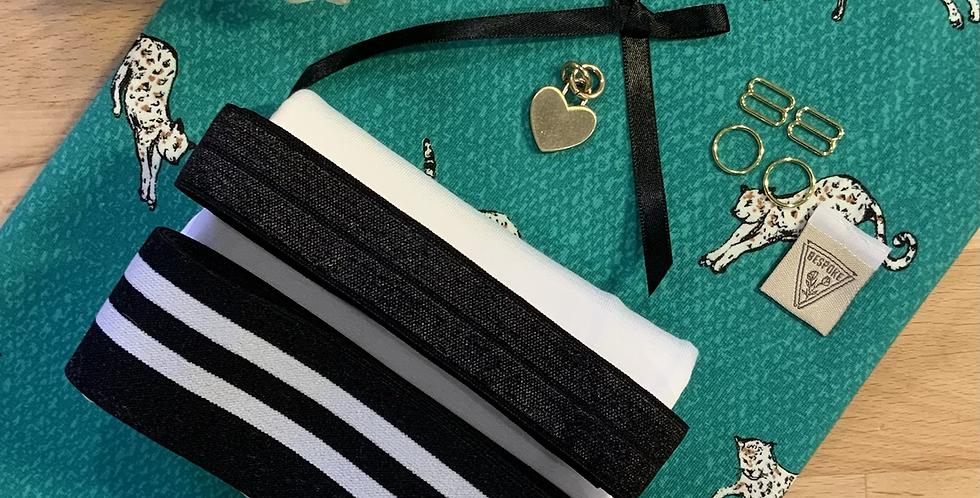 Emerald Leopard Harper Bralette Kit