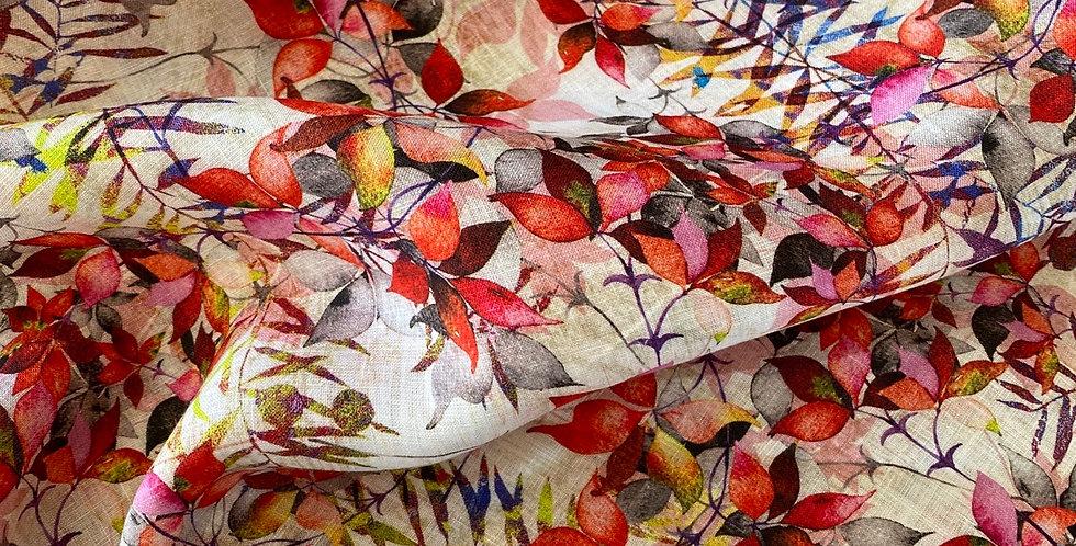 Enchanted garden linen