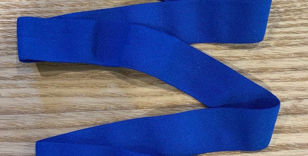 Royal Blue 20mm Matte Foldover Elastic...