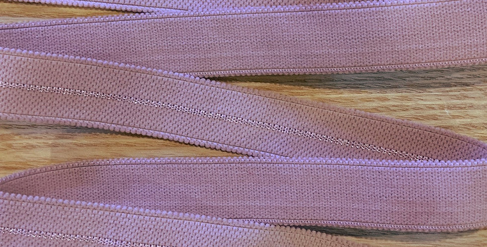 Mottled Dusty Pink Hand Dyed Decorative Strapping....