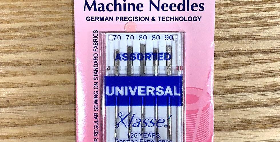 Assorted Universal Machine Needles