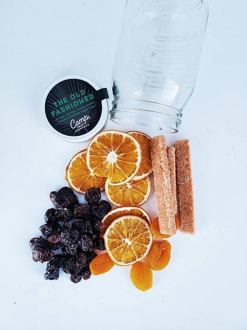 orange, apricot, cherry and bitters-infused vegan non-GMO cane sugar