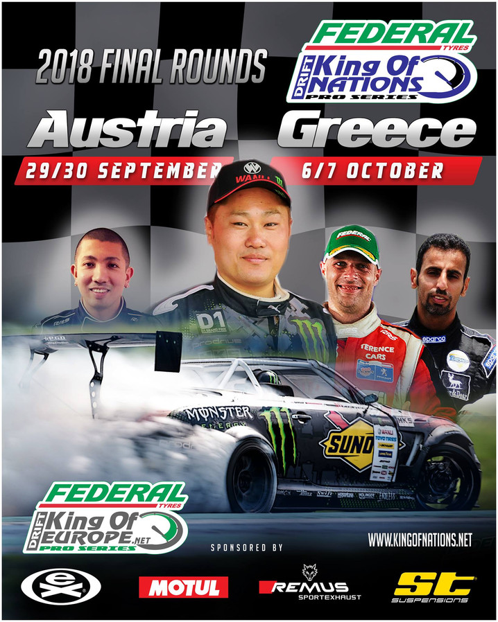 Daigo Saito heads to Europe for the final rounds of 2018!