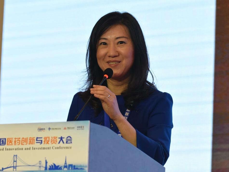 Tina Yu, CEO of Mevion and Managing Partner of Yuanming Capital,