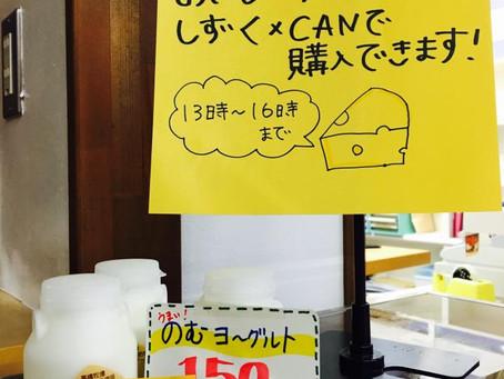 【雫石チーズ工房さん】の試食販売会