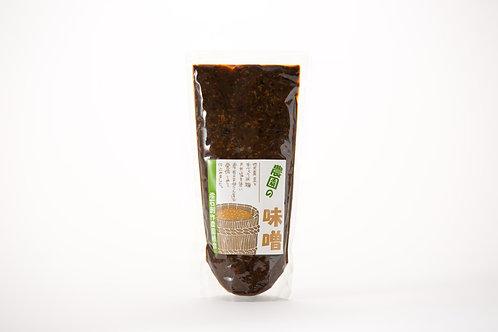 味噌 農園の黒豆味噌 300g