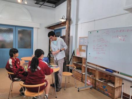 雫石中学校2年生 職場体験