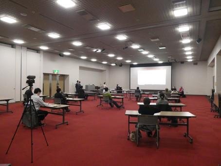 よしゃれ通り推進会議主催により滝沢市上の山自治会の会長、事務局長をお呼びし勉強会を開催しました。