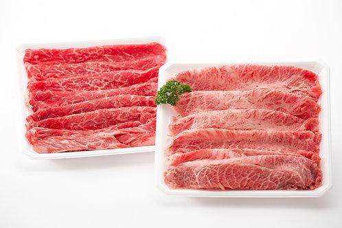 雫石牛 もも肉 ーすき焼き・しゃぶしゃぶ用肉ー 400g
