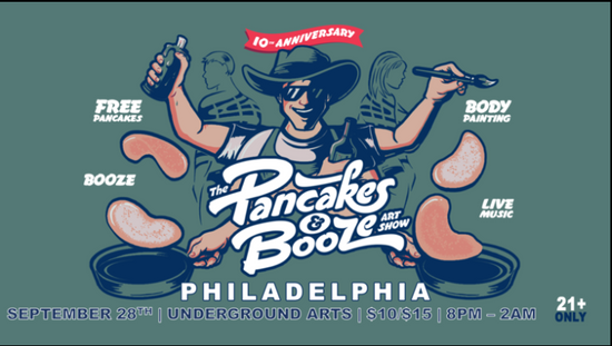 Pancakes and Booze Philly