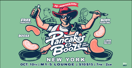 Pancakes and Booze New York