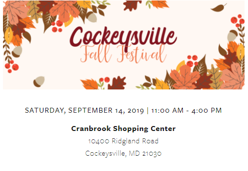 Cockeysville Fall Fest