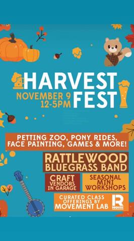 R. House Vendor Harvest Festival