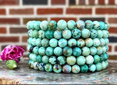 Turquoise Chrysocolla Bracelet