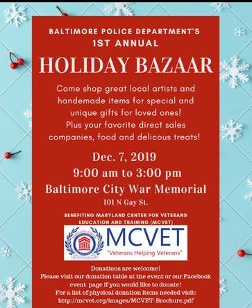 BCPD Holiday Bazaar