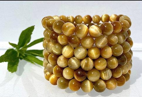 Honey Tiger's Eye Bracelet