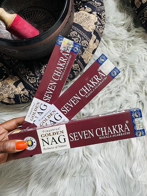 Nag Seven Chakra Incense
