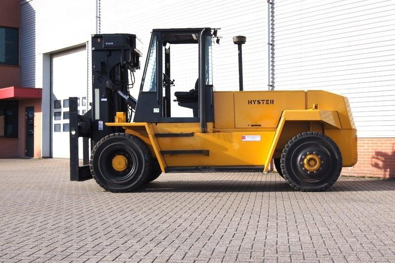 16 ton hyster forklift heavy capacity