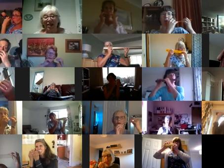 Zoom Choir - love it or loath it!