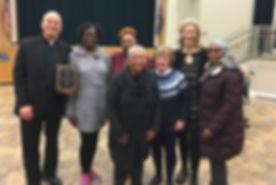 2020-02 Award from Hamden Black History.