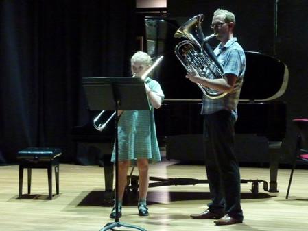 Teaching Beginner Brass