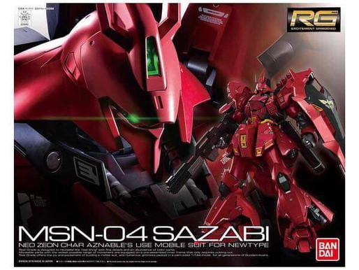 Review: RG MSN-04 Sazabi