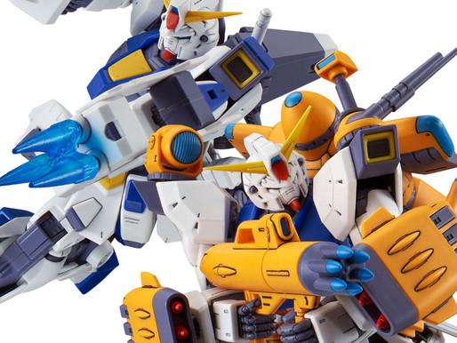 P Bandai MG Gundam F90 Mission Pack (F Type & M Type) - Release Info