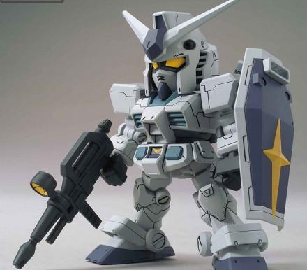SD Gundam Cross Silhouette Gundam Base Limited RX-78-3 G-3 Gundam (Cross Silhouette Frame Ver)- RELE