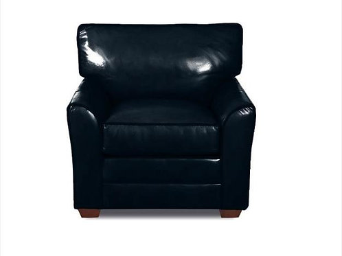 Navy Leather chair