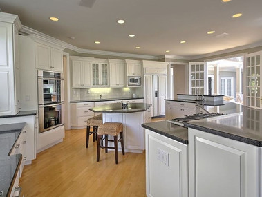 Staged and Painted Kitchen Cabinets Far Hills, NJ SOLD under 30 days
