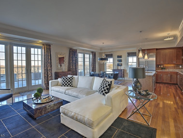 Staged Penthouse Morristown NJ