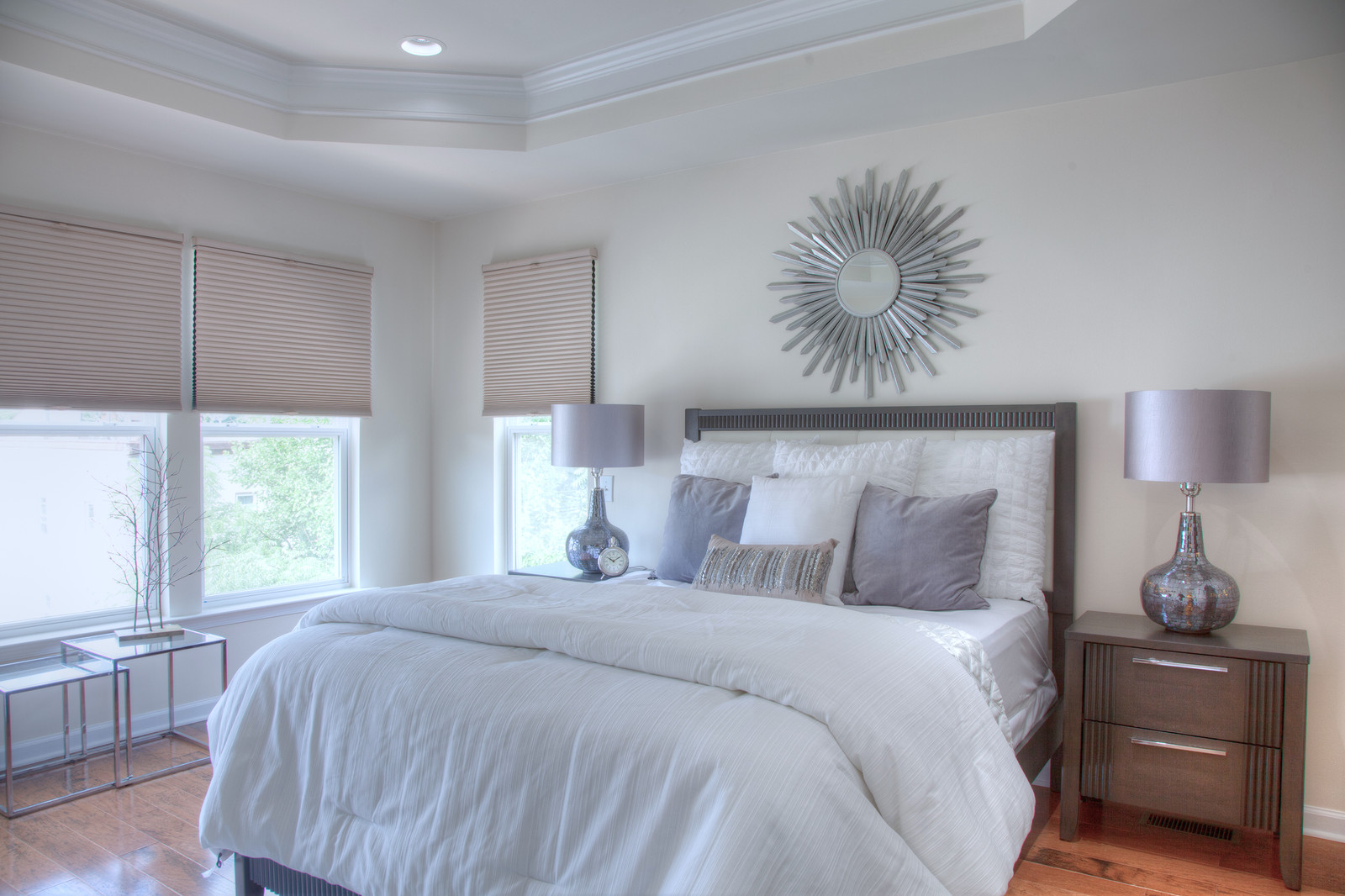 Miraculous Staged Master Bedroom In Morristown Nj Interior Design Ideas Pimpapslepicentreinfo