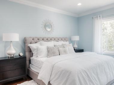 Staged Master Bedroom in Kinnelon, NJ