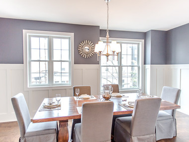 Staged Dining Room in Philadelphia, PA