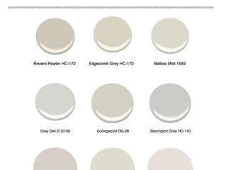 Real Estate's hottest Greige Paint Colors
