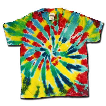 Spiral Tee - Youth XS