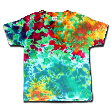 Multicolor Blotter Tee - Youth XS