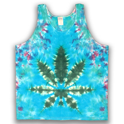 Green Leaf Blue - XL