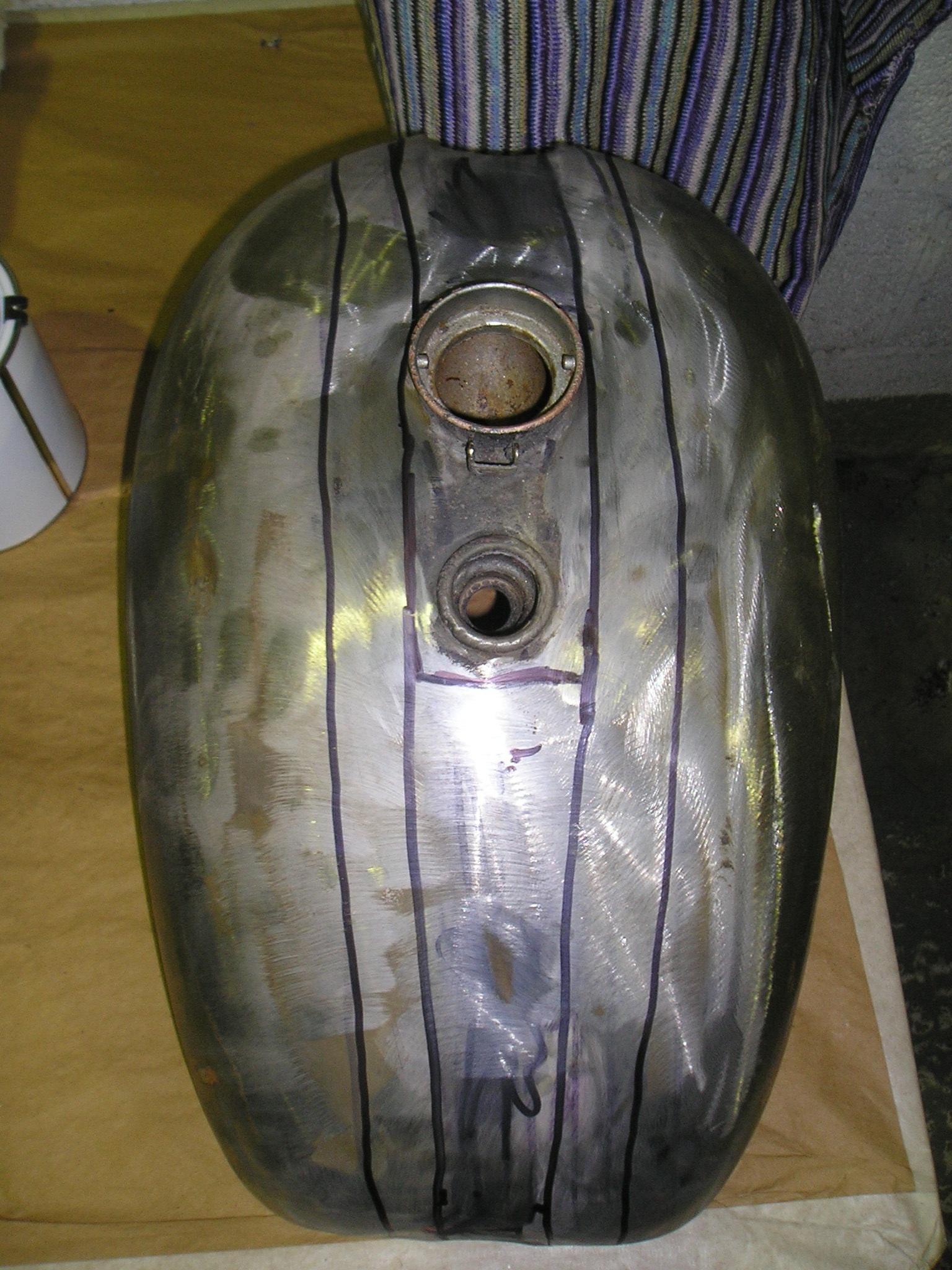 Triumph 6T Bobber Tank