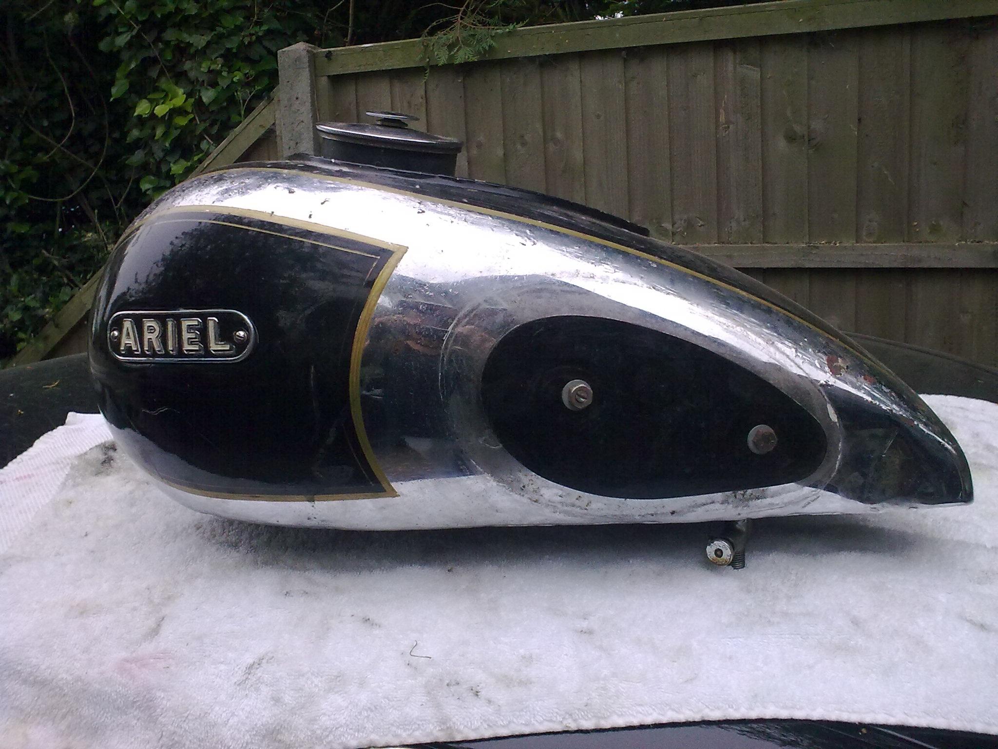 1949 Ariel Tank
