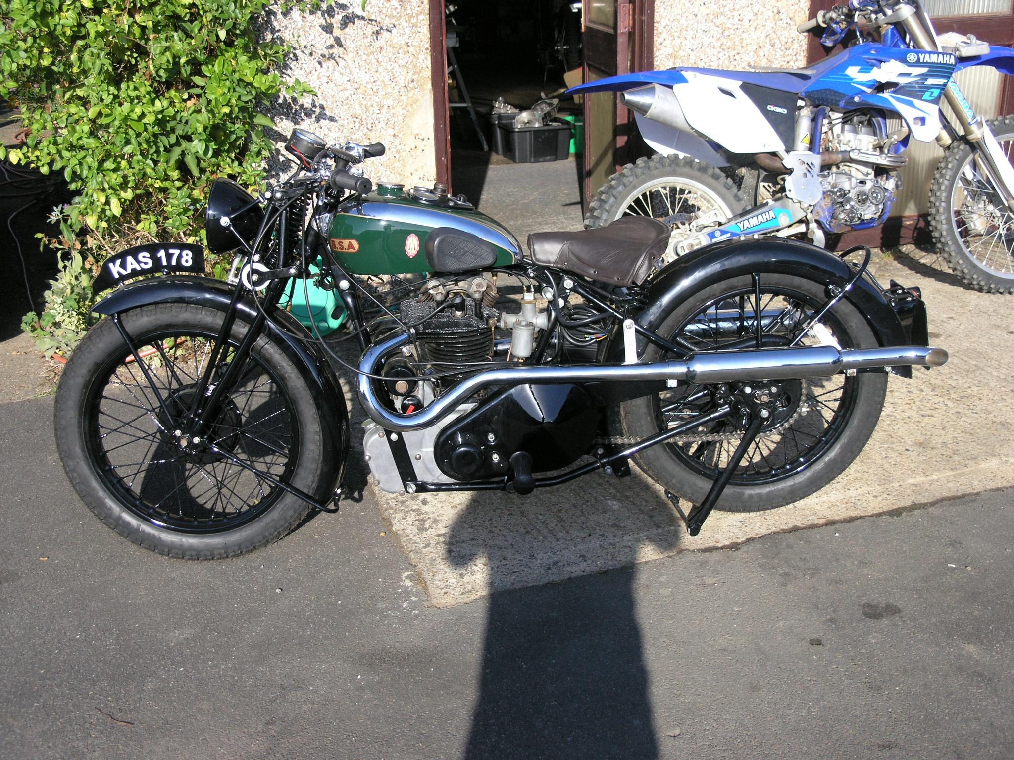 1932 BSA BlueStar Hand Change