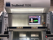 PKD Precision Sheet Metal Limited - bending - Trubend 7036 - sheet metal work