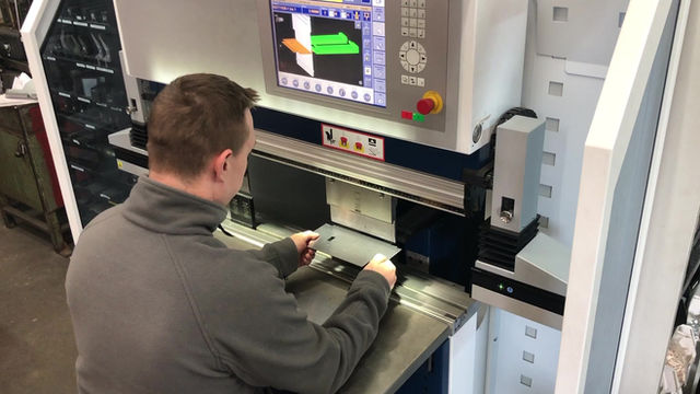 Press Brake investment sparks 10% increase in productivity