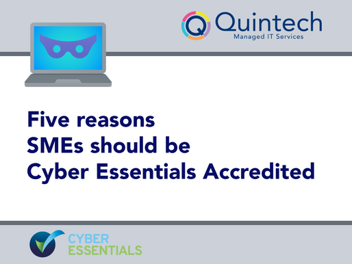 Five reasons SMEs should be Cyber Essentials Accredited