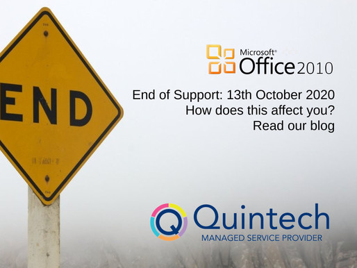 End of Support for Office 2010: What next?