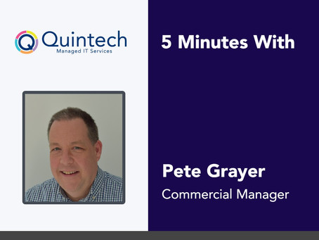 5 Minutes With Pete Grayer